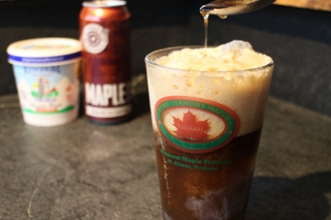 Maple Stout Float