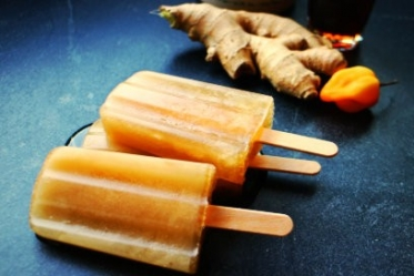 Maple Ginger Habanero Popsicles