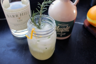 Maple & Gin Cocktails