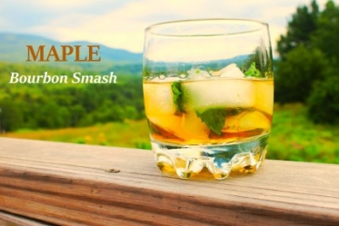 Bourbon Maple Smash